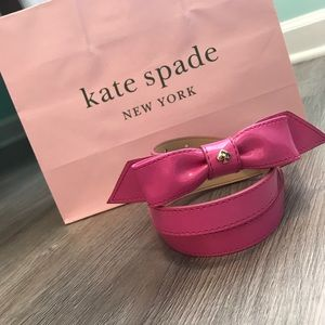 KATE SPADE BELT WITH BOW